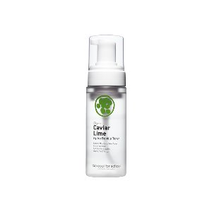 too cool for school,caviar lime hydra bubble toner