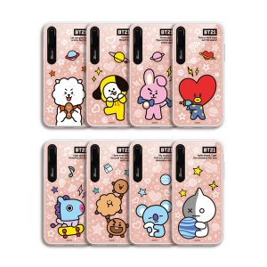 bt21,basic mirror light up phone case