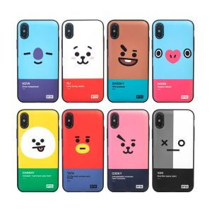 bt21,face multi card bumper case