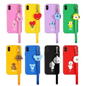 bt21,strap phone case